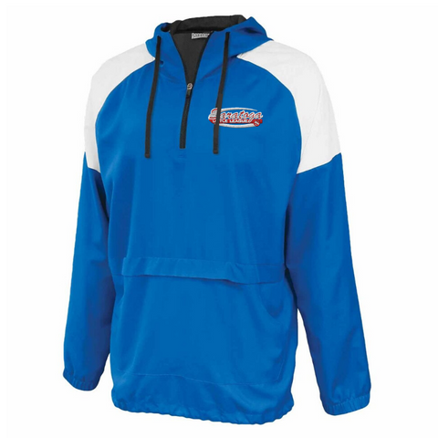 Saratoga Little League Colorblock Hooded 1/4 Zip- Youth & Adult, 3 Colors