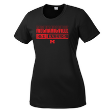 Load image into Gallery viewer, Mechanicville Red Raiders Performance T-Shirt- Youth, Ladies, & Men's, 3 Colors