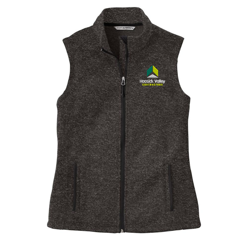HVC Sweater Full ZIp Vest- Ladies & Men's, 2 Colors