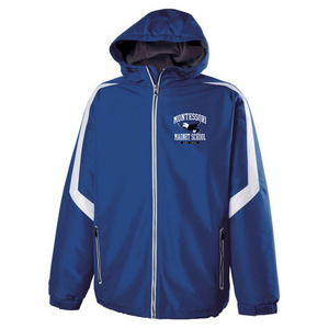Montessori Hooded Full Zip Jacket- Youth & Adult, 2 Colors