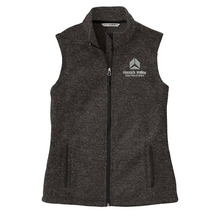 Load image into Gallery viewer, HVC Sweater Full ZIp Vest- Ladies & Men's, 2 Colors