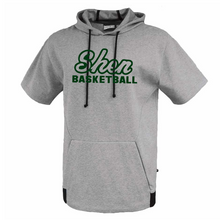 Load image into Gallery viewer, Shen Basketball Short Sleeve Hoodie- 3 Colors