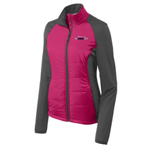 Load image into Gallery viewer, Albany Med EmUrgentCare Hybrid Soft Shell Jacket- Ladies & Men's, 3 Colors