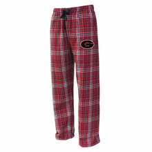 Load image into Gallery viewer, FMS/Guilderland Flannel Pants- Youth & Adult, 3 Colors, 2 Logo Options