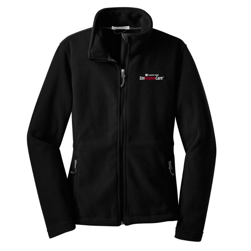 Albany Med EmUrgentCare Full Zip Fleece- Ladies & Men's, 4 Colors