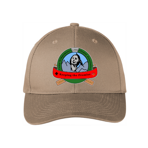 Camp Wakpominee Structured Snapback Twill Cap