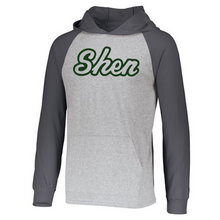 Load image into Gallery viewer, Shen Plainsmen Two-Tone Long Sleeve Lightweight Hooded Shirt- 3 Colors