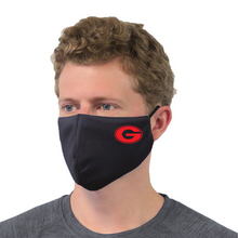 Load image into Gallery viewer, FMS/Guilderland Performance Face Mask- Youth & Adult, 2 Colors, 2 Logo Options
