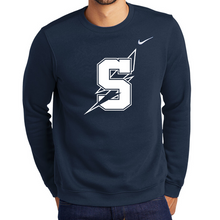 Load image into Gallery viewer, Saratoga Nike Club Fleece Crew- 4 Colors