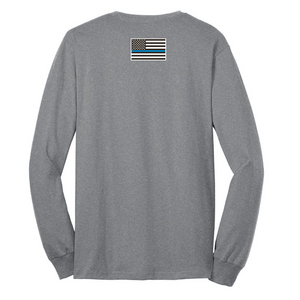 Long Sleeve Cotton Tee- Youth & Adult, 3 Colors, 3 Logo Options