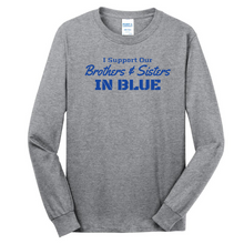 Load image into Gallery viewer, Long Sleeve Cotton Tee- Youth & Adult, 3 Colors, 3 Logo Options
