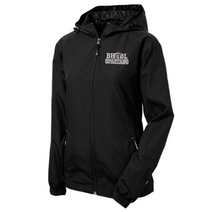 BHBL Spartans Lightweight Hooded Full-Zip Jacket- Youth, Ladies, & Adult, 2 Colors