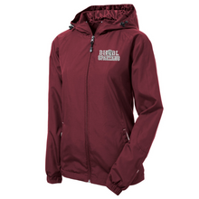 Load image into Gallery viewer, BHBL Spartans Lightweight Hooded Full-Zip Jacket- Youth, Ladies, & Adult, 2 Colors