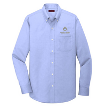 Load image into Gallery viewer, HVC Pinpoint Oxford Non-Iron Shirt- *Tall Sizes Available