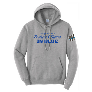 Core Fleece Hooded Sweatshirt- Youth & Adult, 3 Colors, 3 Logo Options