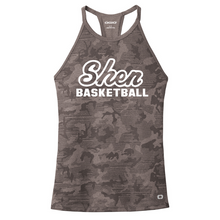 Load image into Gallery viewer, Shen Basketball Ladies Camo Performance Tank- 2 Colors