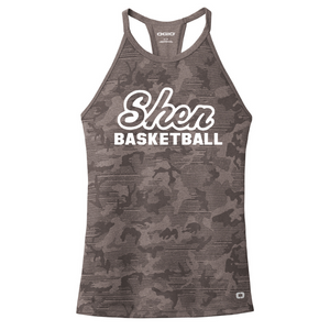 Shen Basketball Ladies Camo Performance Tank- 2 Colors