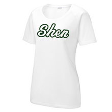 Load image into Gallery viewer, Shen Plainsmen Triblend Short Sleeve Tee- Ladies & Men's, 5 Colors