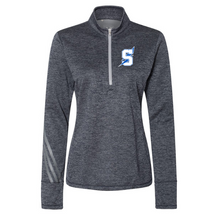 Load image into Gallery viewer, Saratoga Adidas Brushed Terry Heather 1/4 Zip- Ladies & Men's, 3 Colors