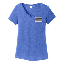 Load image into Gallery viewer, Tri-Blend T-shirt- Ladies & Men's, 3 Colors, 3 Logo Options