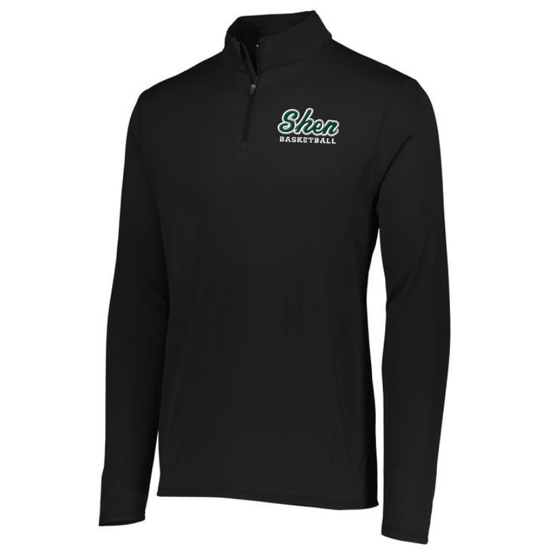 Shen Basketball Lightweight 1/4 Zip Pullover- Youth, Ladies & Men's, 3 Colors