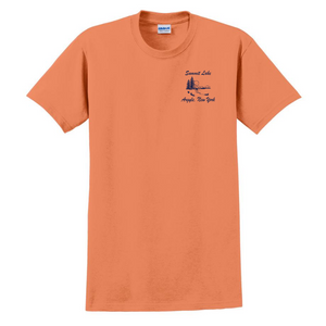 Summit Lake MEN'S Cotton Tee- 4 Colors