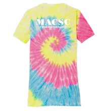 Load image into Gallery viewer, MACSC Tie-Dye T-shirt- Youth, Ladies & Men's