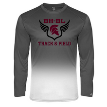 Load image into Gallery viewer, BHBL Track & Field Ombre Performance Long Sleeve- 2 Colors