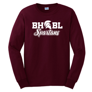 BHBL Long Sleeve Tee- Youth & Adult, 3 Colors