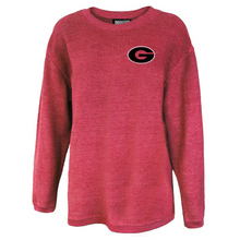 Load image into Gallery viewer, Guilderland Ladies Corded Crew Neck Pullover- 2 Colors