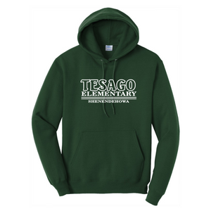 Tesago/Shen Hoodie- Youth & Adult, 2 Colors, 2 Logo Options