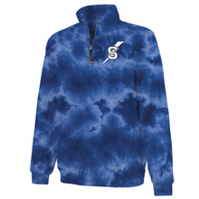 Load image into Gallery viewer, Maple Ave Tie Dye 1/4 Zip Sweatshirt- 3 Colors