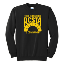 Load image into Gallery viewer, RCSTA Crew Neck Sweatshirt- Youth & Adult, 4 Colors