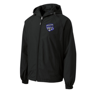 Saratoga Soccer Hooded Full-Zip Jacket- Youth, Ladies, & Adult, 3 Colors