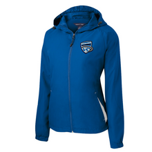 Load image into Gallery viewer, Saratoga Soccer Hooded Full-Zip Jacket- Youth, Ladies, & Adult, 3 Colors