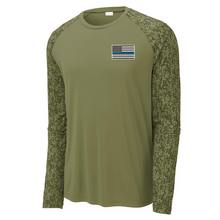 Load image into Gallery viewer, Digi-Sleeve Long Sleeve Performance Tee- 3 Colors, 3 Logo Options