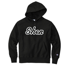 Load image into Gallery viewer, Shen Plainsmen Champion Reverse-Weave Hooded Sweatshirt- 3 Colors