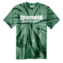 Load image into Gallery viewer, Shatekon/Shen Tie-Dye T-shirt- Youth & Adult, 3 Colors, 2 Logo Options