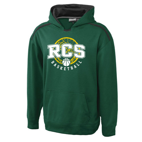 RCS Basketball Performance Hoodie- Youth & Adult, 3 Colors