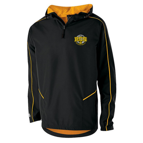 RCS Basketball Hooded 1/4 Zip Pullover- Youth & Adult, 3 Colors