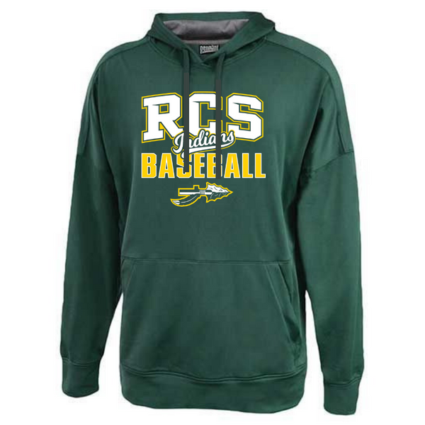 RCS Baseball Lightweight Solid Performance Hoodie- 3 Colors
