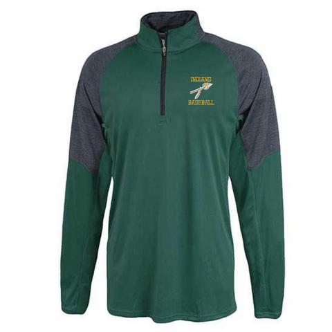RCS Baseball Two-Tone Lightweight Performance 1/4 Zip- 2 Colors