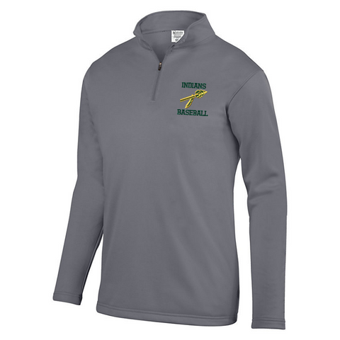RCS Baseball 1/4 Zip Performance Fleece Pullover- Youth, Ladies & Men's, 3 Colors