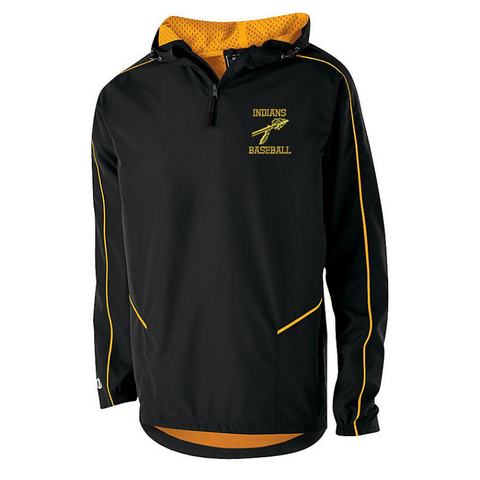 RCS Baseball Hooded 1/4 Zip Pullover- Youth & Adult, 4 Colors