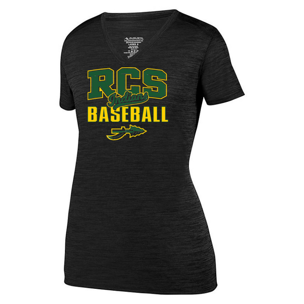 RCS Baseball Tonal Heather Performance Tee- Youth, Ladies & Men's, 3 Colors