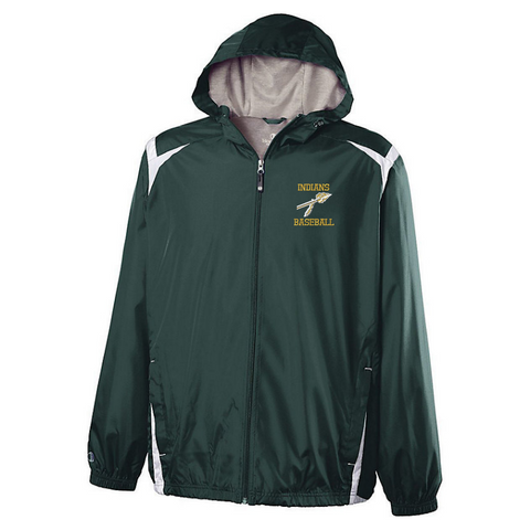 RCS Baseball Hooded Full Zip Lightweight Jacket- Youth & Adult, 2 Colors