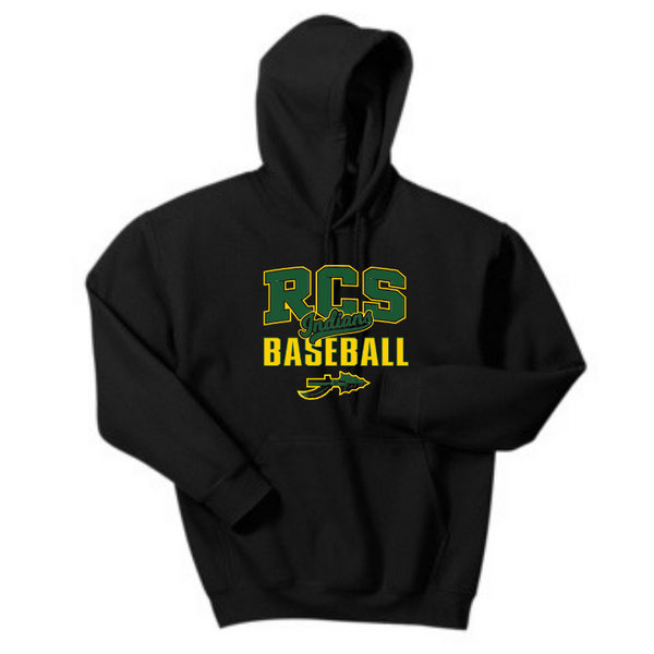 RCS Baseball Hoodie- Youth & Adult, 3 Colors