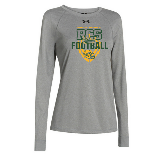 RCS Football Under Armour Long Sleeve Performance Tee- Ladies & Men's, 2 Colors