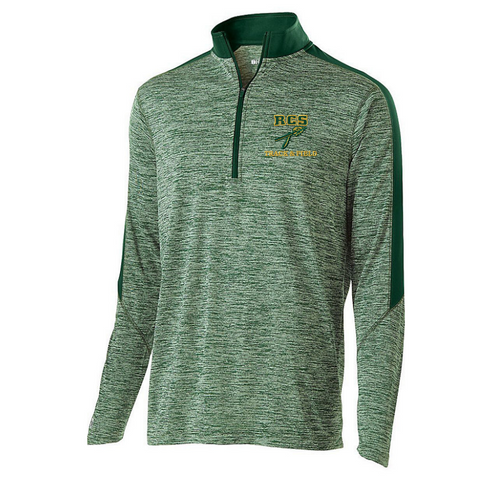 RCS Track & Field Lightweight Heather 1/4 Zip Pullover- Youth, Ladies, & Men's, 3 Colors