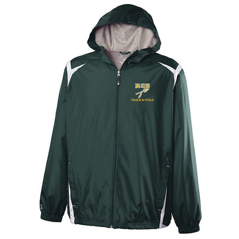 RCS Track & Field Hooded Full Zip Lightweight Jacket- Youth & Adult, 2 Colors